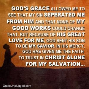 Salvation is found in Christ alone and I thank You Lord.